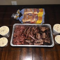 Meal donated to us from Southside Market & Barbeque