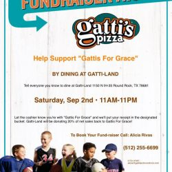 Gatti's for Grace Fundraiser