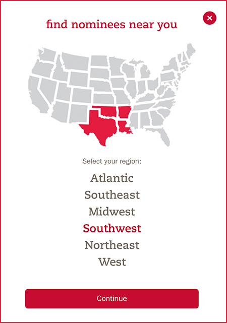 Chick-fil-A - choose Southwest